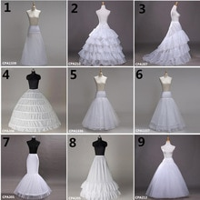 Jupon Femme White Wedding Petticoat Crinoline Tulle Dress for Bridal Underskirt Mermaid Petticoat Girl Jupon Mariage