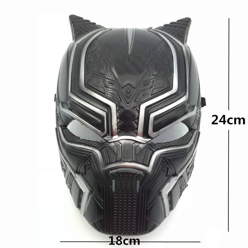Novo filme super herói salvador black panther máscara cosplay traje festa de halloween masquerade decoração adereços