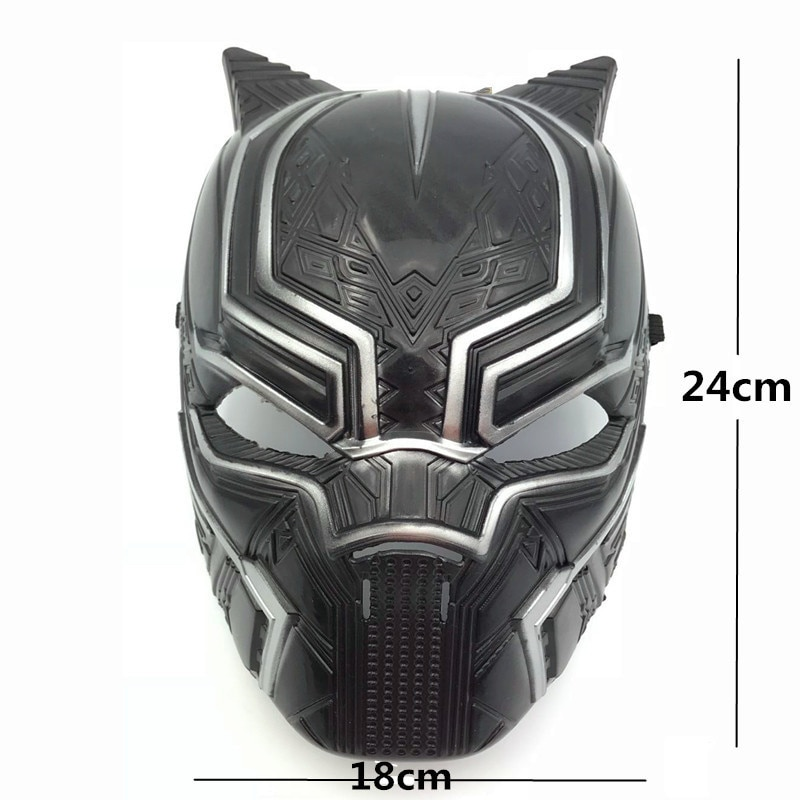 Nueva película de superhéroe Salvador Pantera Negra, máscara de disfraz de Cosplay, fiesta de Halloween, mascarada, accesorios de decoración