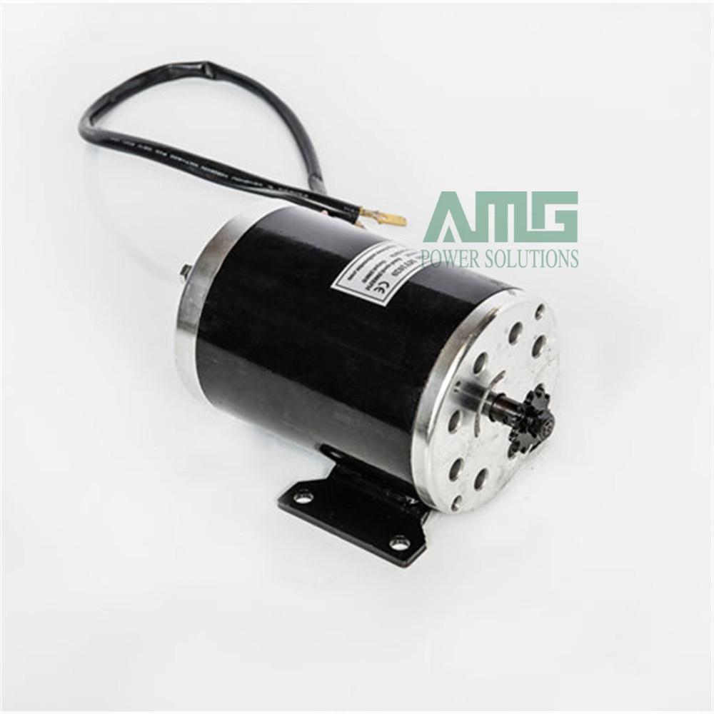 Высокоскоростной щеточный двигатель MY1020 750 Вт постоянного тока 36 В/48 В/60 в 2800