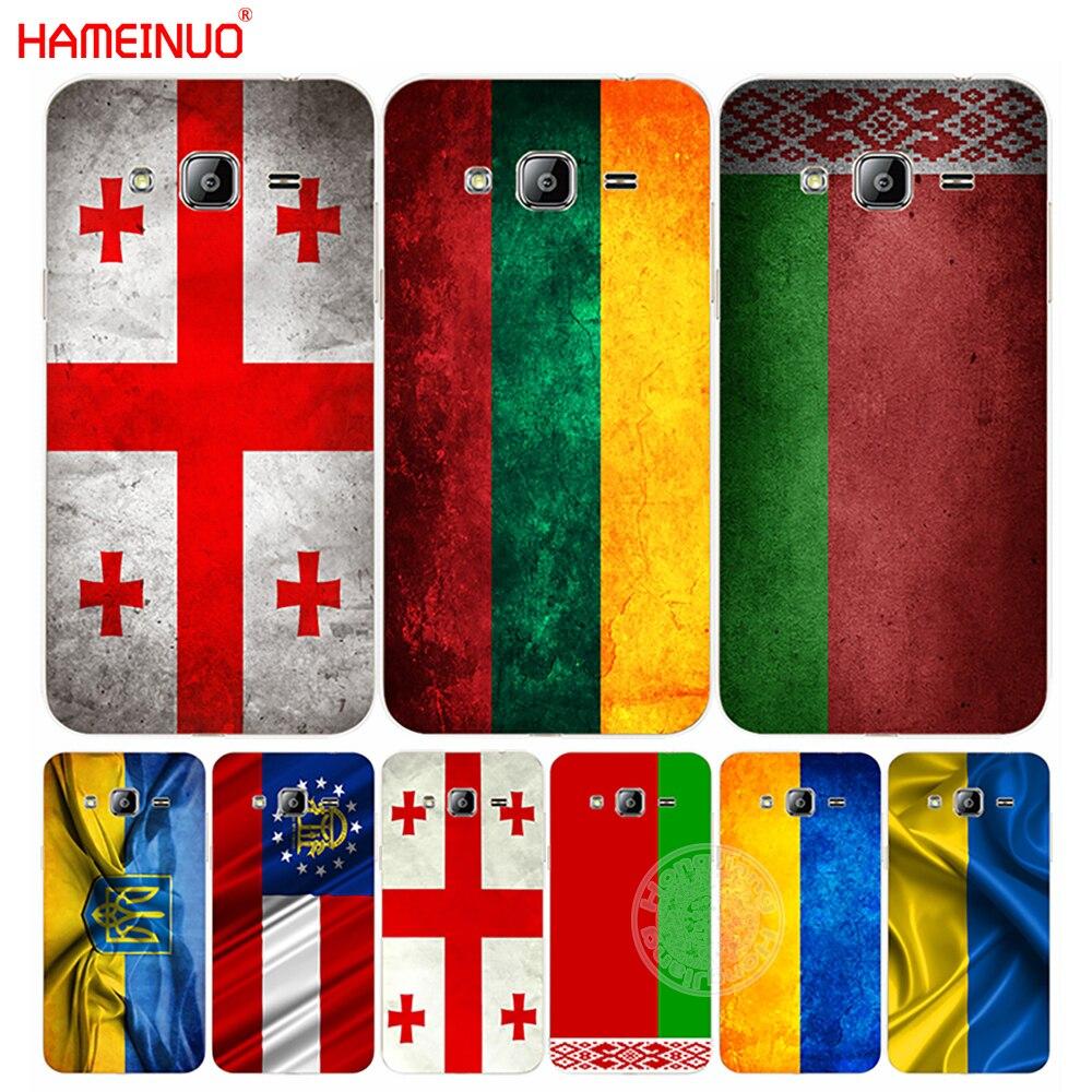 Hameinuo bandeira geórgia lituânia bielorrússia capa de telefone para samsung galaxy j1 j2 j3 j5 j7 mini ace 2016 2015 prime