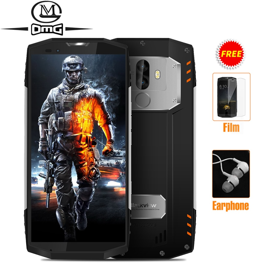 "BLACKVIEW BV9000 PRO NFC OTG 6GB RAM 128GB ROM IP68 shockproof mobile phone 5.7"" Android 7.1 P25 Octa Core Unlock 4G Smartphone"