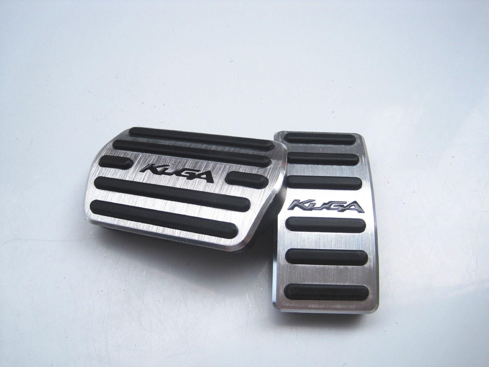 Педаль тормоза из алюминиевого сплава pegale Крышка для Ford Kuga Escape 2013 2014 2015 2016 2017 аксессуары