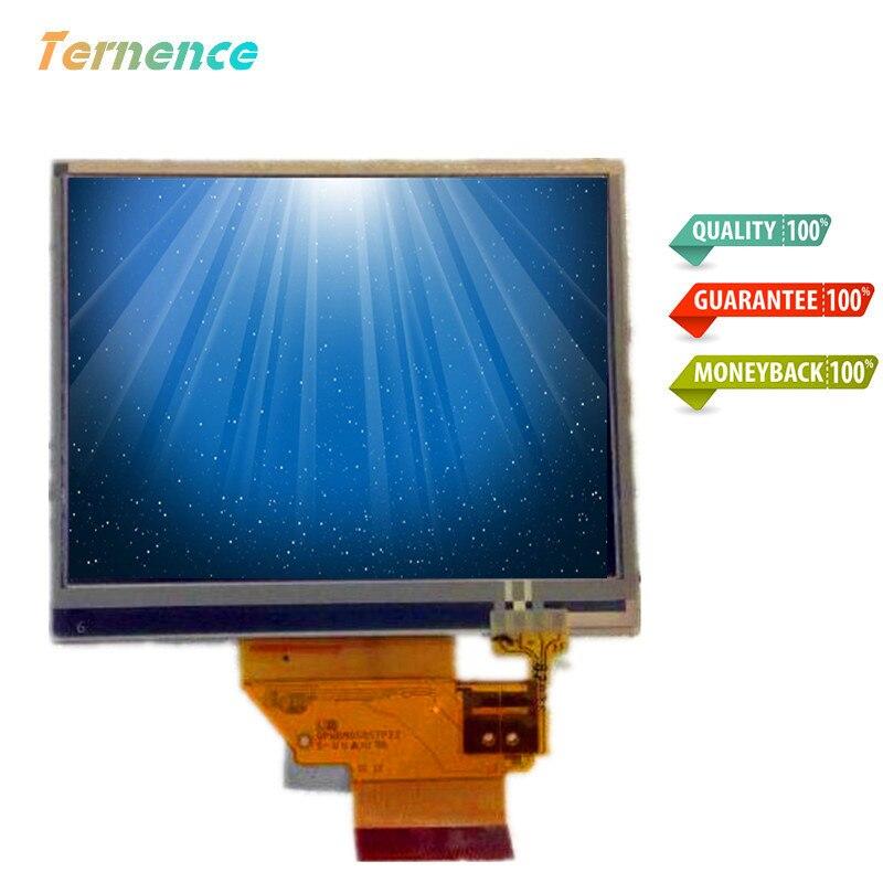 """skylarpu 3.5"""" inch LQ035Q1DH02 LQ035Q1DH02L LCD screen for Garmin Nuvi 200 205 255 265 GPS LCD display screen with Touch screen"""