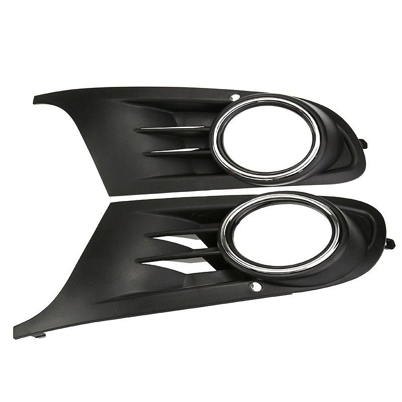 2 uds. Parrillas de luz antiniebla de parachoques delantero para Volkswagen VW Jetta Sportwagen Golf 6 VI MK6 TDI/TSI estilo de coche