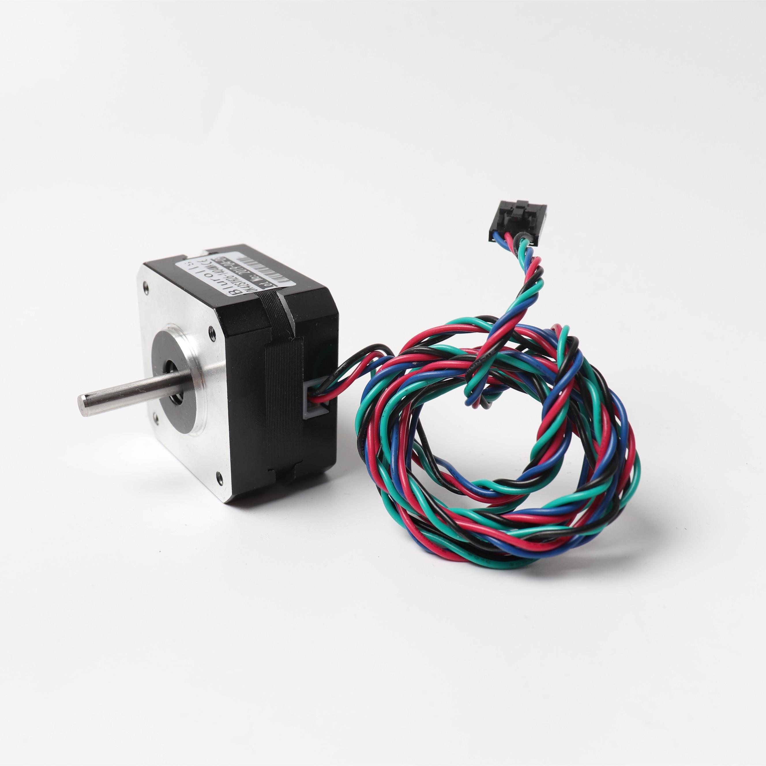 0.9/1.8 Angle Pancake stepper motor for Prusa i3 MK3/MK3S extruder