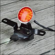 CNC Tail lamp Rear light license bracket Retro Motorcycle tail light Cafe Racer modified custom