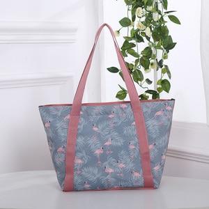 Simple Canvas Bags for Women 2019 Fashion Large-capacity Handbag Multi-function Shoulder Storage Bag Zipper Eco Shopping Bags