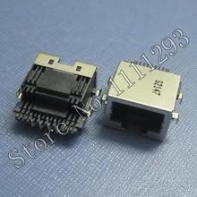 5pcs/lot Lan Jack Socket RJ45 Connector for Toshiba C600 C600D C640 C645 L300 L305 L630 L635 L675 etc Laptop