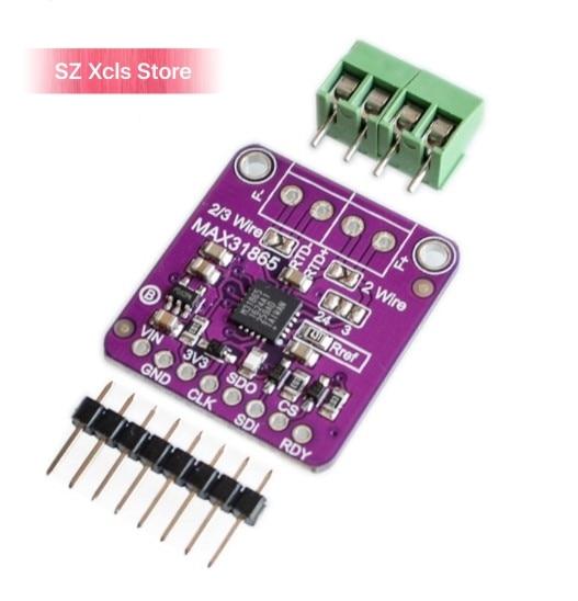 Detector de temperatura de resistencia de platino MAX31865 RTD PT100 a PT1000