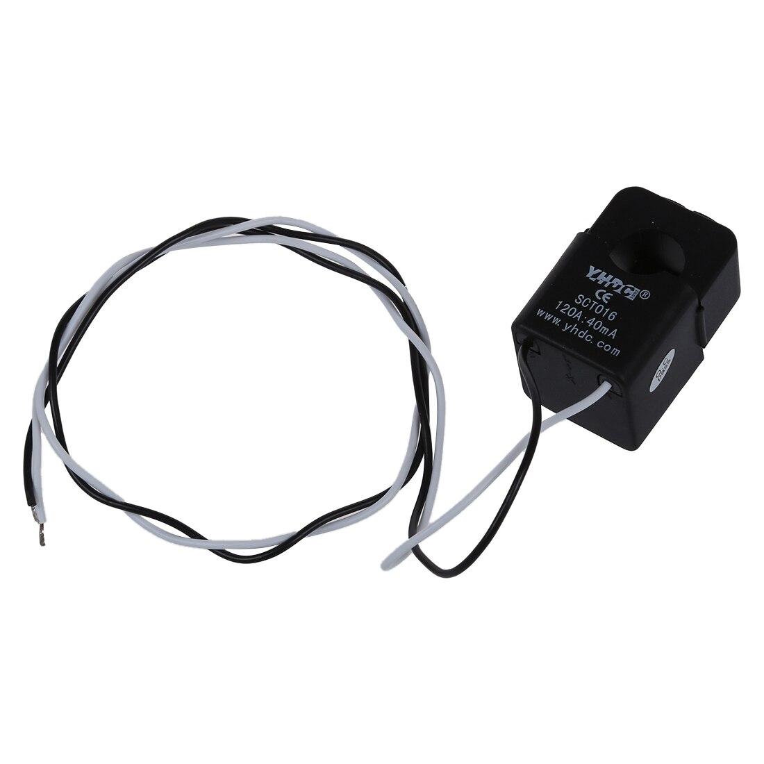 Transformador de corriente de núcleo dividido, cable de 0,01-120A, 0,5 M