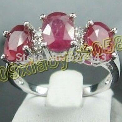 Envío Gratis></noscript> hermosa rosa anel de cristal tamanho 8-anillos