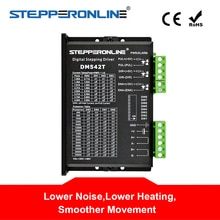 Controlador de Motor paso a paso Digital controlador de Motor paso a paso 1,0-4.2A 20-50VDC para Motor paso a paso Nema 17, 23, 24
