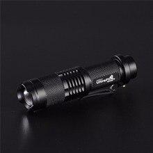 UltraFire SK98 CREE XM-L2 5-mode zoom spotlight torch Lantern Hunting tactics LED glare flashlight luz portable flash