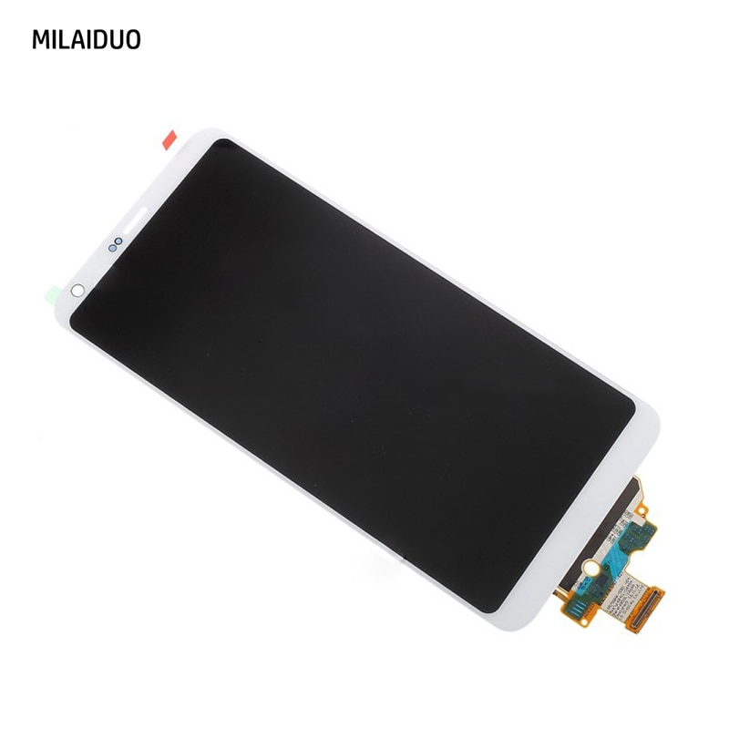 LCD Display For LG G6 H870 H870DS H872 LS993 VS998 US997 Touch Screen Digitizer Assembly Replacement Black White Grey with Frame enlarge