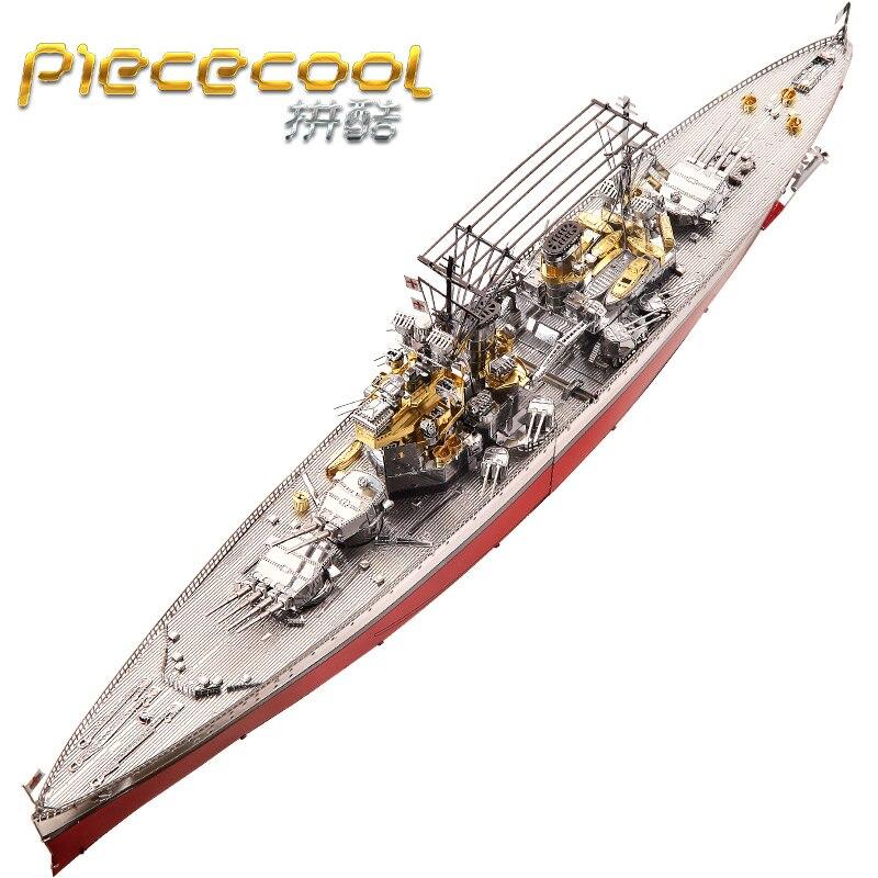 Figura de puzle de Metal 3D de 2018 piezas, modelo HMS PRINCE OF WALES de buque de guerra, rompecabezas educativo, modelos en 3D, juguetes de regalo para niños