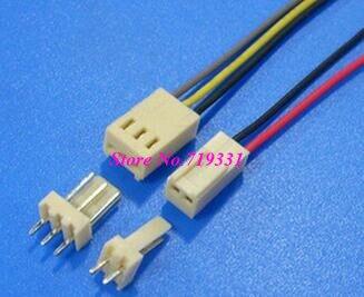 10 juegos Micro Mini KF2510 2,54mm 2p 3p 4 pin 5 pin 12P macho y hembra enchufe con cable