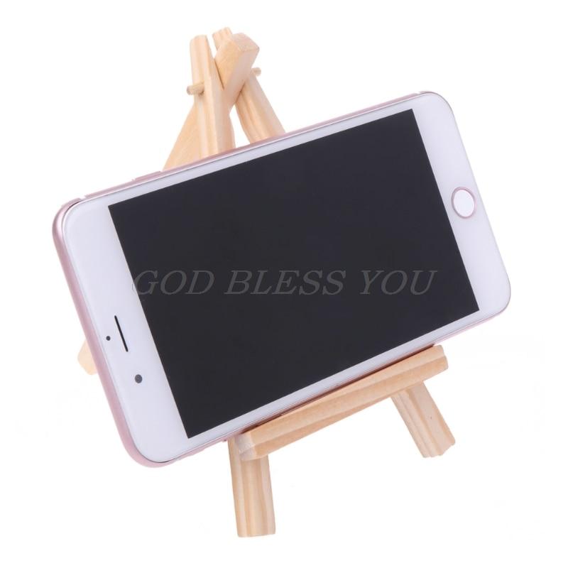 Mini caballete de trípode de madera, soporte de pintura para pantalla, tarjetero de lona, para fiesta de boda, triangulación de envíos