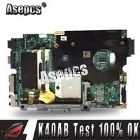 Asepcs K40AB Laptop motherboard fur For Asus K40AB K40AD K40AF K50AB K50AD K50AF K40IJ K5IJ K40 K50 Test original mainboard