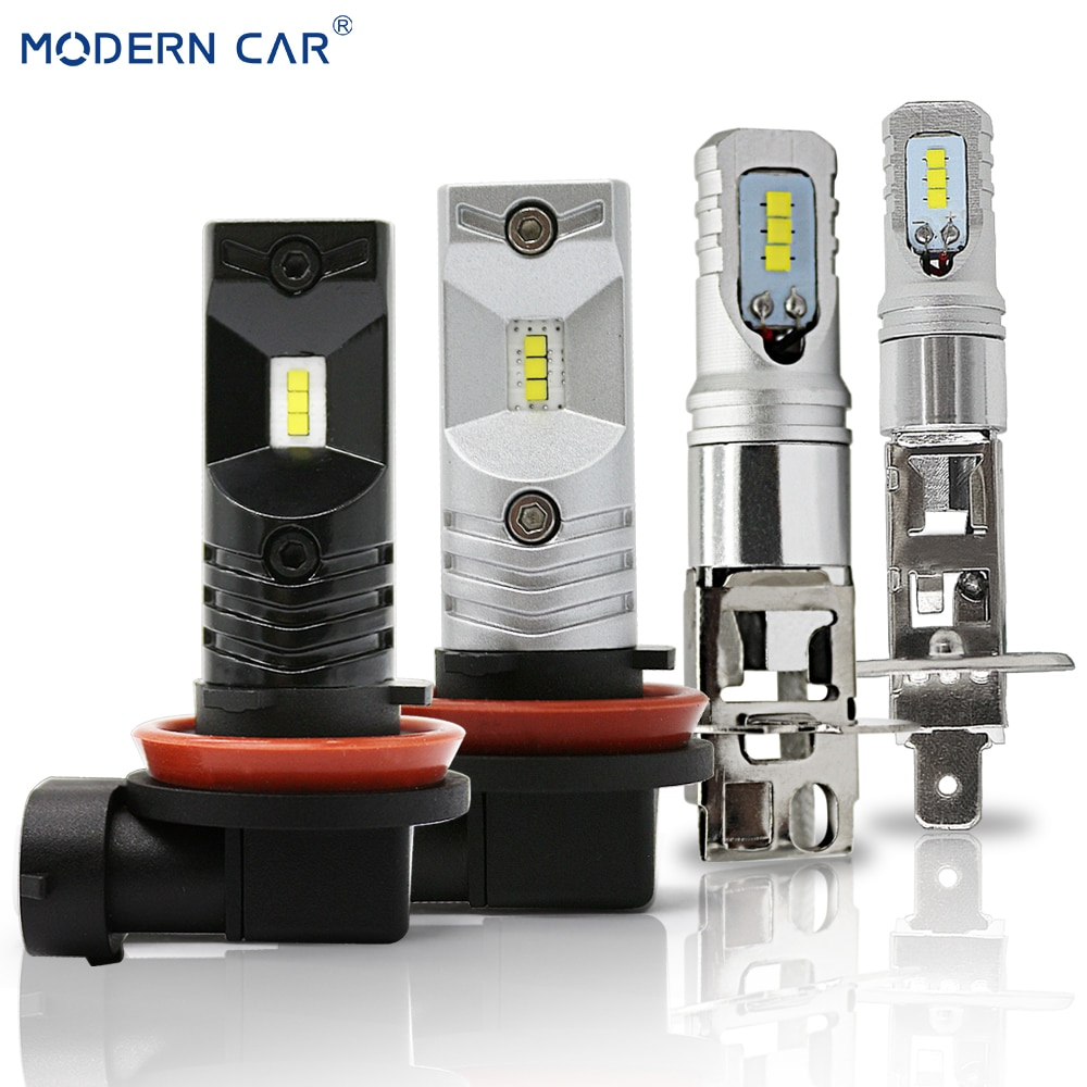 MODERNE AUTO 60 W H1 H3 H11 H8 9005 9006 H7 LED Nebel Licht Lampen CSP Fahren Drl nebel Lampe Birne 3000lm Auto Styling 12 V