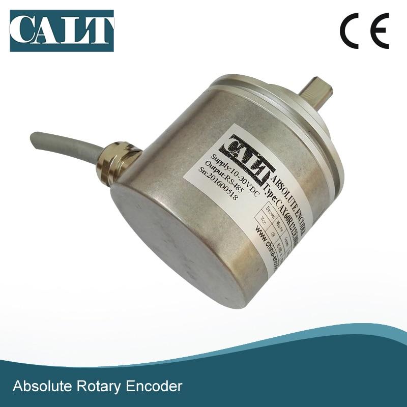 CAX60R1206E10R4B 4096 resolution RS485 signal 64 laps multiturn absolute rotary encoder