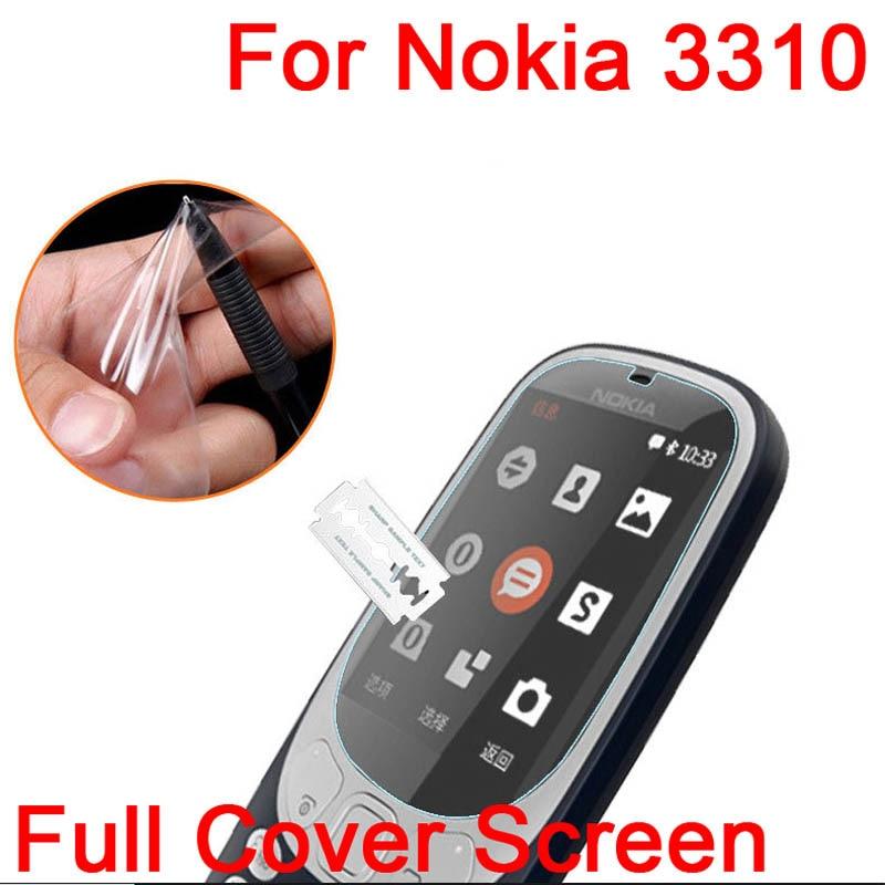 10 шт ультра прозрачный ТПУ Мягкий ЖК-экран Защитная пленка для Nokia 3310 2017 защитная пленка (не закаленное стекло) + ткань