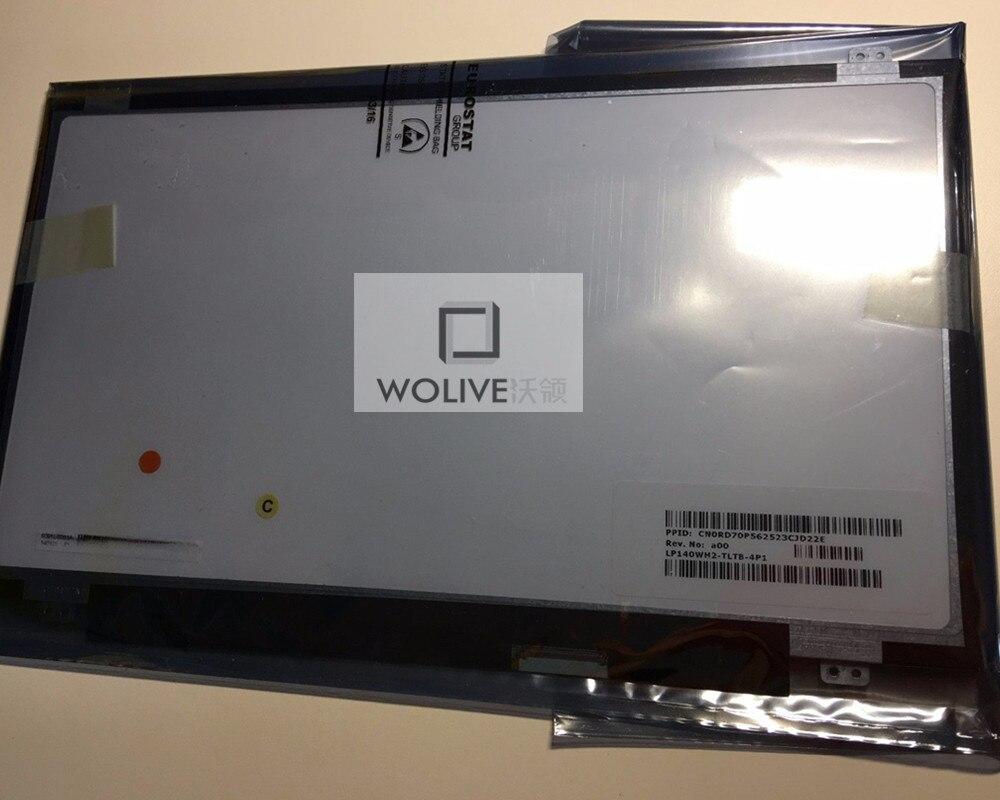 """Nueva 14.0 """"WXGA HD LP140WH2-TLTB pantalla LCD para Dell P/N-RD70P 40Pin"""
