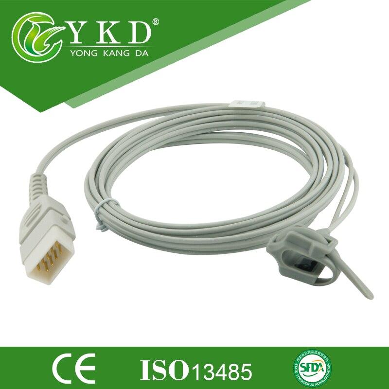 BCI/Choicemed Neonato sensor de Envoltório De Silicone de pulso da frequência cardíaca para 3305 3301, DB9 pinos/9ft