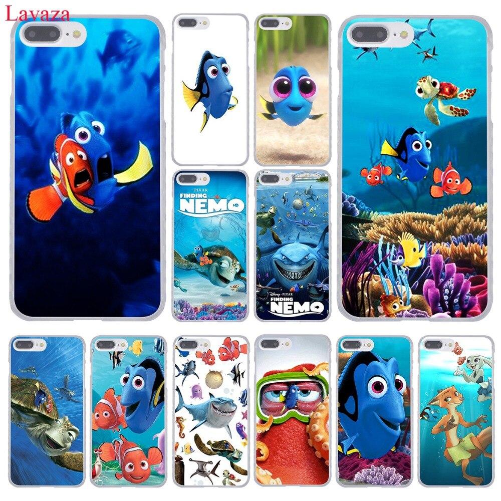 Carcasa rígida para teléfono móvil Lavaza Finding Nemo para iPhone XR XS X 11 Pro Max 10 7 8 6 6S 5 5S SE 4S 4, funda