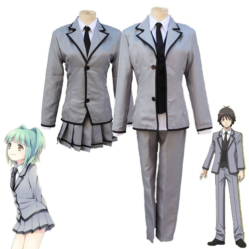 Assassination Classroom Cosplay Ansatsu Kyoushitsu Kaede Kayano Isogai Yuuma Shiota traje de NAGISA uniforme de la escuela disfraz de Halloween