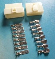75sets1350pcs 63080 8 pinway 6 3mm pitch electrical connector kit housingterminal for carboatmotorbike ect
