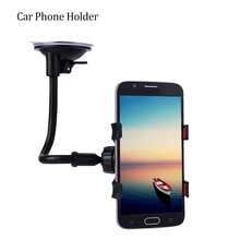 Support universel de voiture pour téléphone portable voiture fenêtre pare-brise support de montage 360 Rotation bras Long pare-brise GPS téléphone Mobile Holdersld support