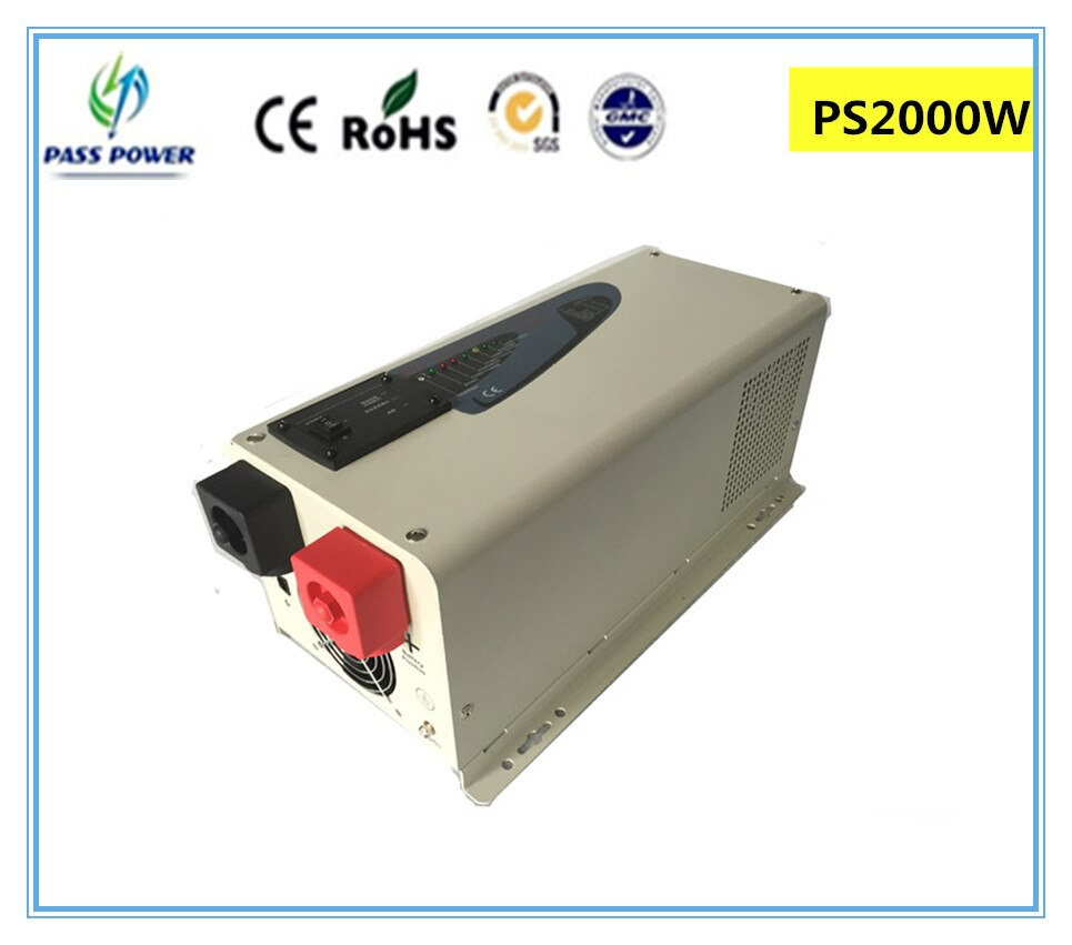 CE & RoHS aprobado 1500 W/dc12 1.5KW/24 V 220 V/230 VPS serie de onda sinusoidal pura inversor Solar con pantalla LCD