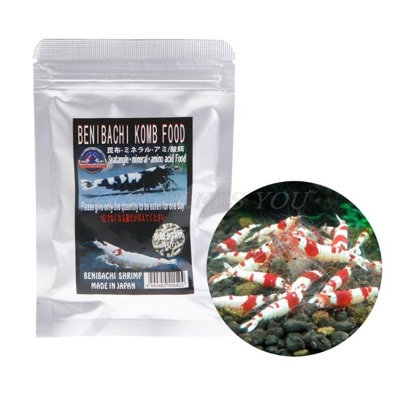 Fish Food Aquarium Fish Forage Crystal Shrimp Feeding Seaweed Natural Nutrition Vitamin Health Growing Drop Shipping