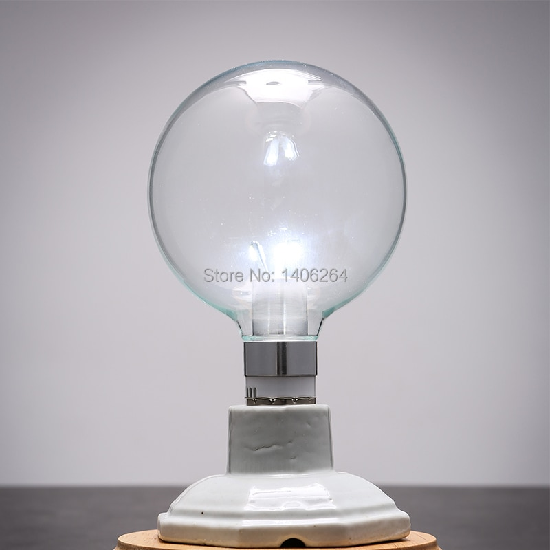 4 PCS Vidro RH LOFT Edison E27 LED SMD bulbo 3 W G95 3 Watt 360 Graus de vidro transparente