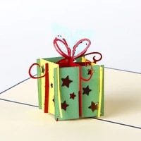 5pcslot pop up paper laser cut greeting cards creative handmade happy birthday christmas anniversary souvenirs postcards