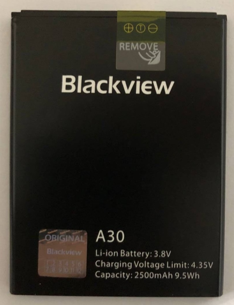100% Original Backup Blackview A30 2500mAh Battery For Blackview A50 Smart Mobile Phone недорого