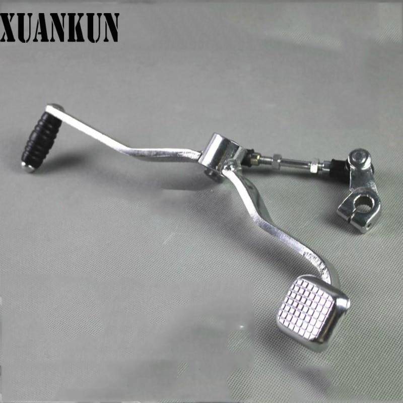 Детали для мотоциклов от XUANKUN детали SJ125 A B GX125 рычаг переключения передач в