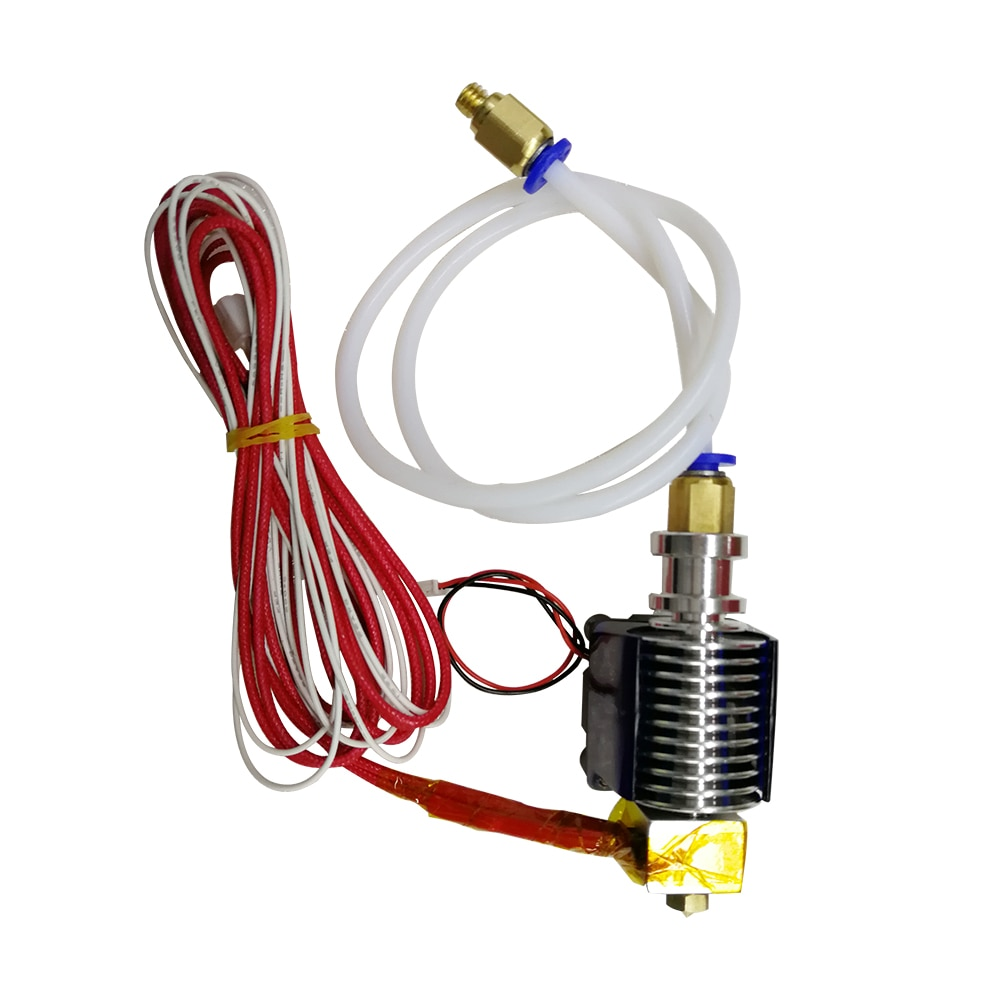 Tronxy, extrusora de impresora 3D, boquilla de 1,75mm de diámetro de filamento de 0,4mm con termistor de teflón, E3D hotend V6, Envío Gratis