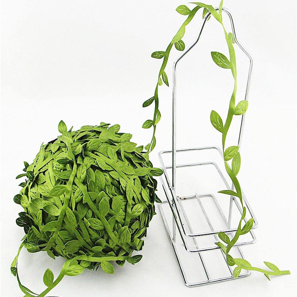 Guirnalda de hojas de eucalipto Artificial de 13 pies DIY Wild Jungle Home Wall Garden decoración para fiestas de bodas