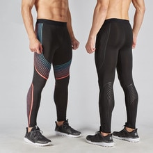 Pantalons de Compression hommes Leggings de Compression à séchage rapide pantalons dentraînement Leggings de Fitness homme pantalon de musculation livraison directe