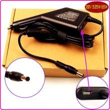 De energia do laptop dc adaptador para carro carregador 20 v 3.25a + usb para lenovo G360A G430 G450 G475 G460 G460A G455 G555 G560 G570 G580 K22