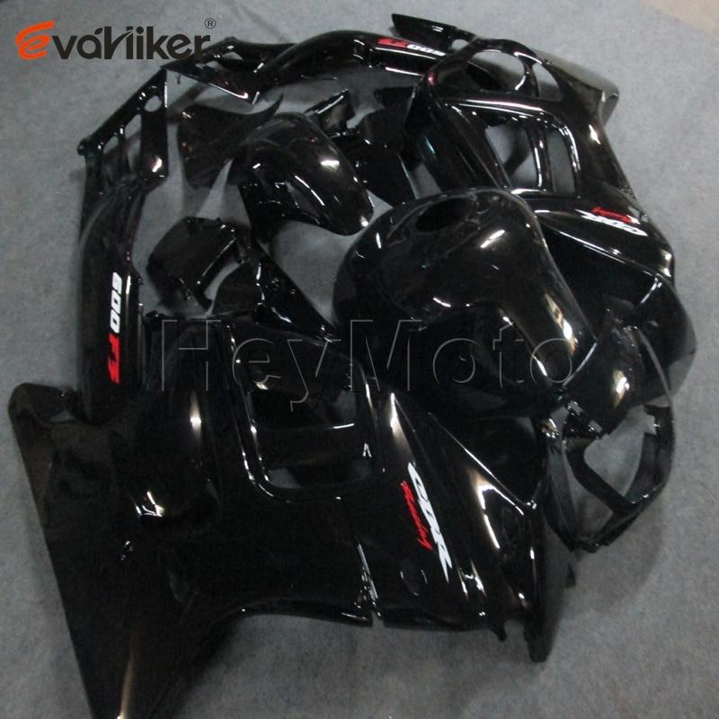 مجموعة انسيابية بلاستيكية ABS للدراجات النارية ، هيكل دراجة نارية CBR600F3 1995 1996 CBR600 F3 1995 1996 ، أسود لامع