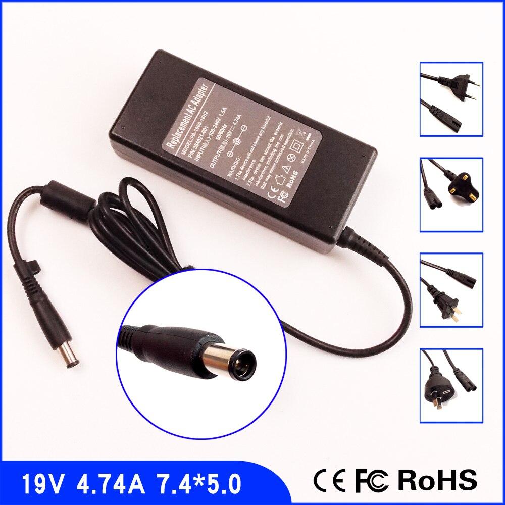 19 V 4.74A Laptop Ac Adapter Netzteil für HP/Compaq Presario CQ70 CQ71 CQ72 CQ36 CQ41 CQ42 CQ43 CQ50Z CQ51 CQ52 CQ55 CQ56