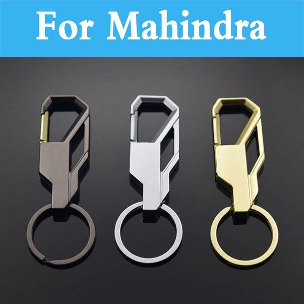 1 шт. металлический 3D автомобильный брелок для ключей для Mahindra Armada Болеро Commander Marshal Scorpio Verito