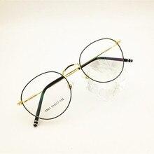 Eyesilove classic women myopia glasses customized myopia eyeglasses round frame prescription glasses