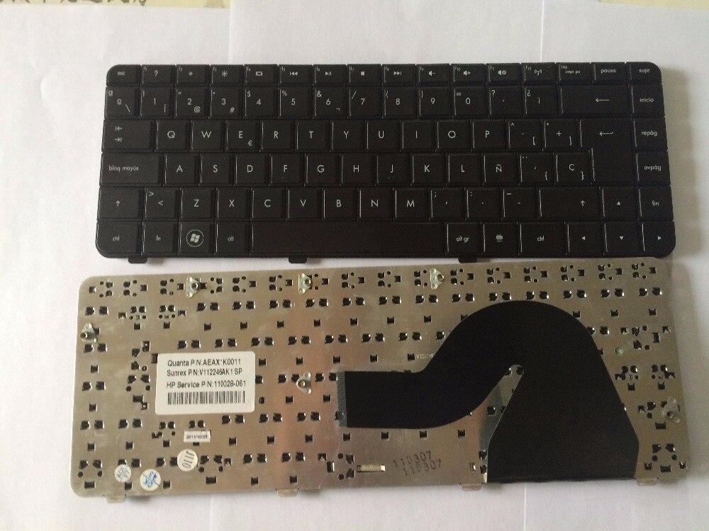 جديد الإسبانية SP لوحة مفاتيح إتش بي CQ42 G42 G42-154CA G42-224CA G42-228CA G42-328CA سلسلة الأسود