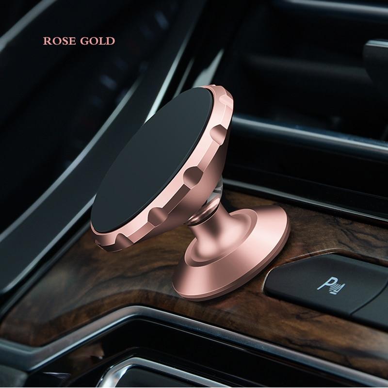 Soporte de teléfono para coche con imán soporte de ventilación compartimento central para coche soporte 360 rotación para DACIA Logan Duster sandero lodgy sandero Logan