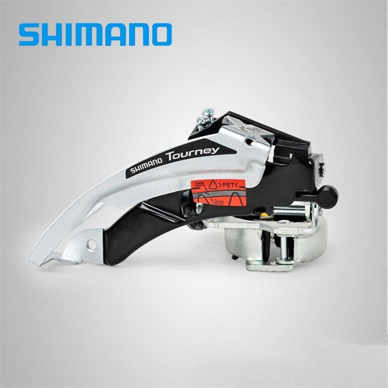 Shimano Tourney FD-TX50 зажим для горного велосипеда передний переключатель 31,8 мм/34,9 мм совместим с 6/7 скоростными поездами TY500