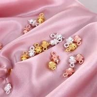 10pcscharm acorn pendant diy necklace bracelet jewelry making small accessories